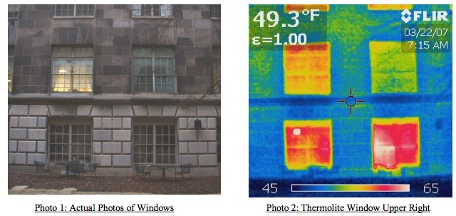 Thermolite thermal imaging Department of Commerce