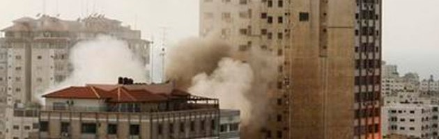 Israel Gaza strip bomb blast bomb windows